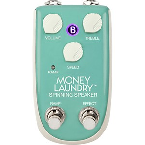 Danelectro Billionaire Money Laundry Spinning Speaker Effects Pedal by Danelectro