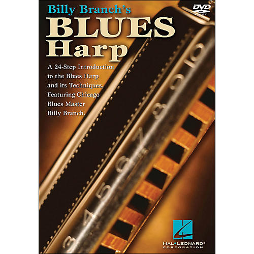 Hal Leonard Billy Branch's Blues Harp (DVD)-thumbnail