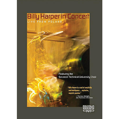 Hal Leonard Billy Harper in Concert - Live from Poland DVD Series DVD Performed by Billy Harper