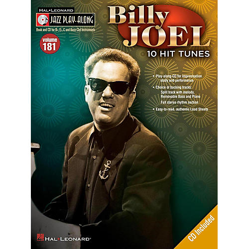 Hal Leonard Billy Joel - Jazz Play-Along Volume 181 (Book/CD)-thumbnail