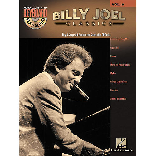 Hal Leonard Billy Joel Classics - Keyboard Play-Along, Volume 8 (Book/CD)