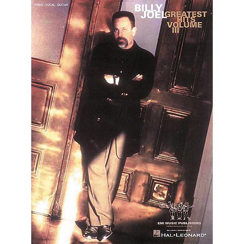 Hal Leonard Billy Joel Greatest Hits Volume 3 Piano, Vocal, Guitar Songbook