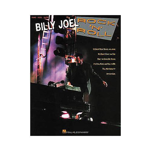 Hal Leonard Billy Joel Rock 'n Roll Piano, Vocal, Guitar Book