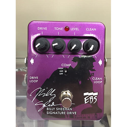 EBS Billy Sheehan Signature Overdrive Bass Effect Pedal