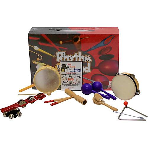 Rhythm Band Bing Bang Boom 10 Player Rhythm Kit with Instructional Interactive DVD by Bradley Bonner-thumbnail