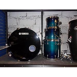 Pre-owned Yamaha Birch Custom Absolute Drum Kit by Yamaha