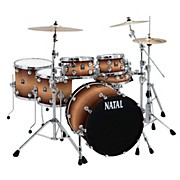 Natal Drums Birch Fusion 22 Plus 6-Piece Shell Pack