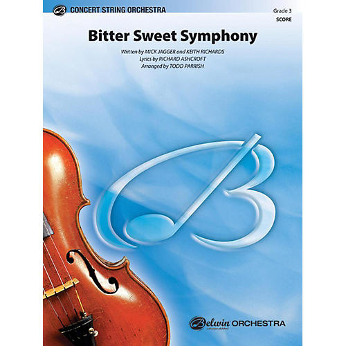 Alfred Bitter Sweet Symphony String Orchestra Grade 3-thumbnail