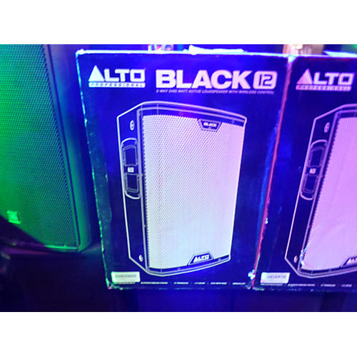 Alto Black 12in 2-Way Loudspeaker 2400W With Wireless Connectivity Powered Speaker