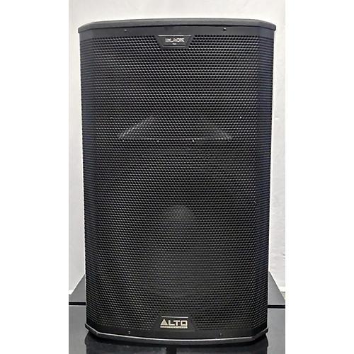 Alto Black 15in 2-Way Loudspeaker 2400W With Wireless Connectivity Powered Speaker