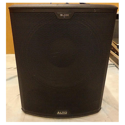 Alto Black 18in Active Subwoofer 2400W Powered Subwoofer