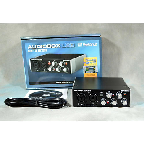 PreSonus Black Audiobox 2x2 USB Audio Interface-thumbnail