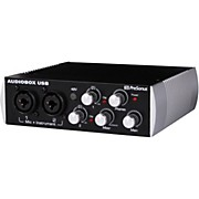 Black Audiobox 2x2 USB Recording System
