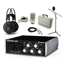 Presonus Black Audiobox, K52 and 990 Package