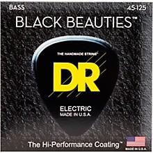 DR Strings Black Beauties Medium 5-String Bass Strings