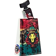LP Black Beauty Collectabells Cowbell - Rasta Lion Smoke