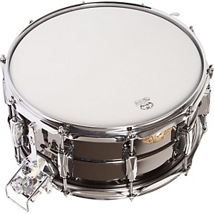 Ludwig Black Beauty Snare with Super-Sensitive Snares by Ludwig
