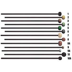 Mike Balter Black Birch Keyboard Mallets by Mike Balter