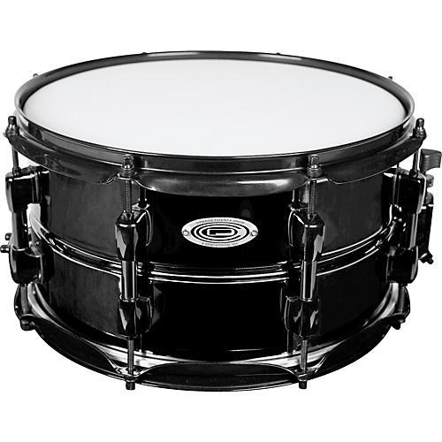 Orange County Drum & Percussion Black Brass Snare Drum
