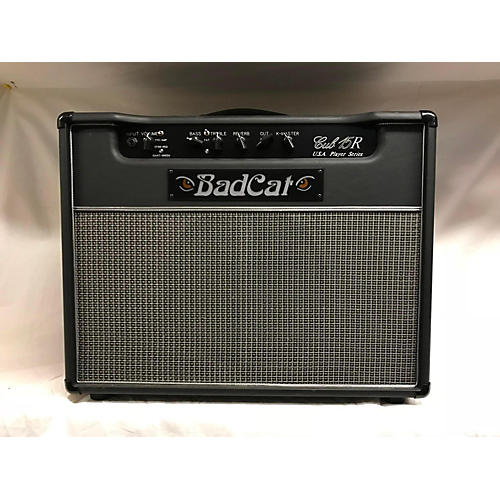 used bad cat black cat 15w 1x12 with reverb tube guitar combo amp guitar center. Black Bedroom Furniture Sets. Home Design Ideas