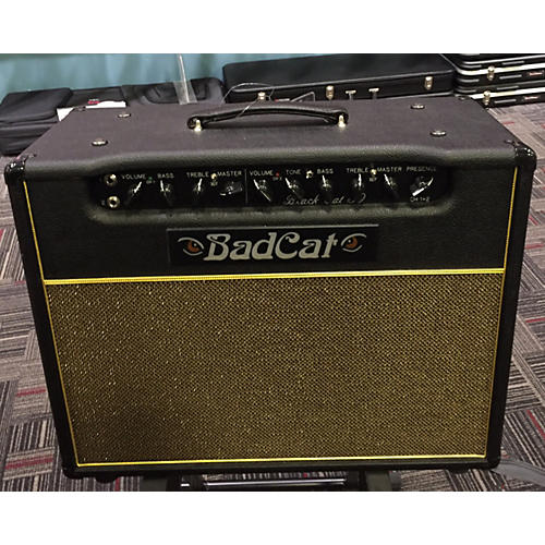 Bad Cat Black Cat 30W 1x12 Tube Guitar Combo Amp-thumbnail