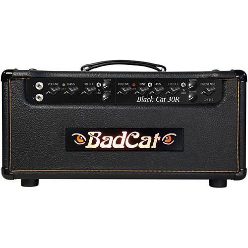 Bad Cat Black Cat 30W Guitar Head with Reverb-thumbnail