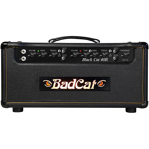 Bad Cat Black Cat 40W Guitar Head with Reverb-thumbnail