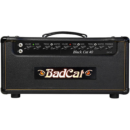 Bad Cat Black Cat 40W Guitar Head-thumbnail