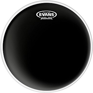 Evans Black Chrome Tom Batter Drumhead by Evans