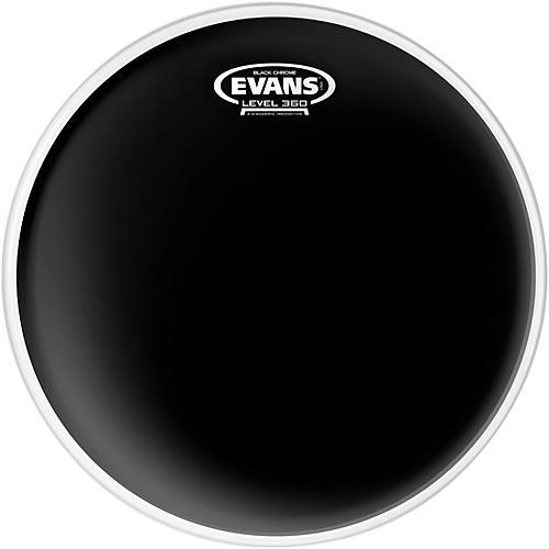 Evans Black Chrome Tom Batter Drumhead 6 in.