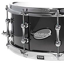 Ahead Black Chrome on Bell Brass Snare Level 1 14 x 6 in.