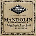 Black Diamond Black Coated Phosphor Bronze Mandolin Strings  Thumbnail