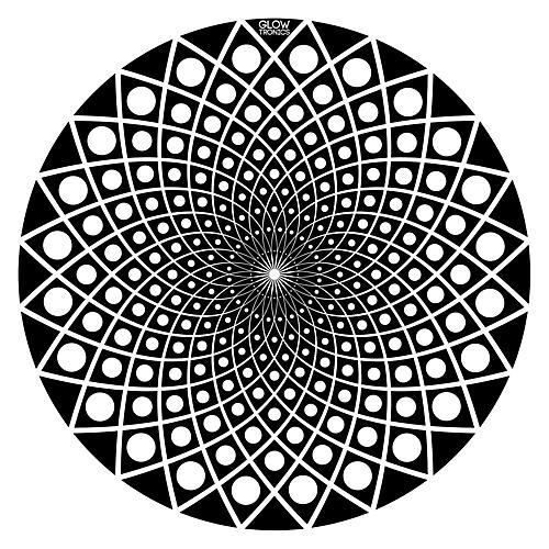 Glowtronics Black Hole 12 in. Non-glow Slipmats