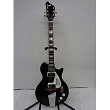 Supro Black Holiday Solid Body Electric Guitar