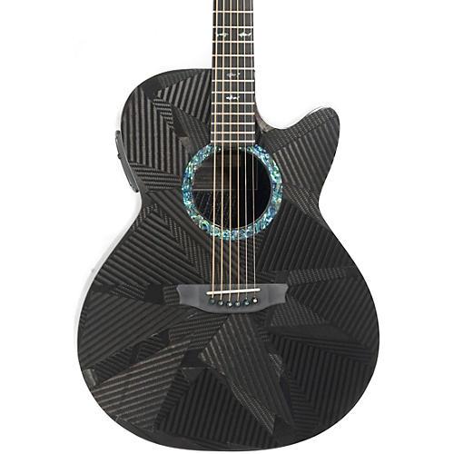 Rainsong Black Ice Series BI-WS1000N2 Graphite Acoustic-Electric Guitar Carbon