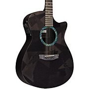 RainSong Black Ice Series Orchestra Acoustic-Electric Guitar