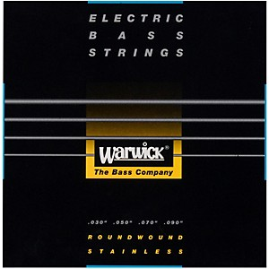 Warwick Black Label 4 String XL Nickel Bass Strings by Warwick