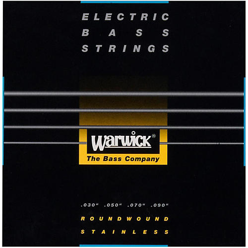Warwick Black Label 4-String XL Nickel Bass Strings-thumbnail