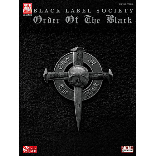 Cherry Lane Black Label Society: Order Of The Black Guitar Tab Songbook