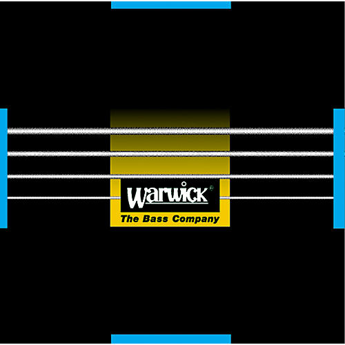 Warwick Black Label Stainless Medium 4-String Bass Strings