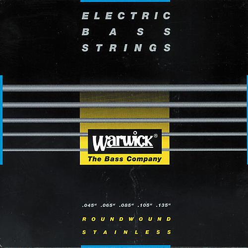 Warwick Black Label Stainless Medium 5-String Bass Strings-thumbnail