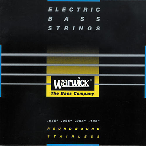 Warwick Black Label Stainless Medium Light 4-String Bass Strings-thumbnail
