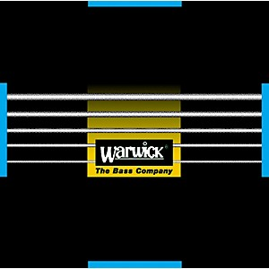 Warwick Black Label Stainless Medium Low 5 String Bass Strings