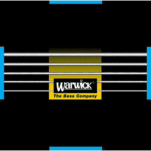 Warwick Black Label Stainless Medium Low 5-String Bass Strings-thumbnail
