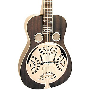 Regal Black Lightning Resonator Guitar by Regal