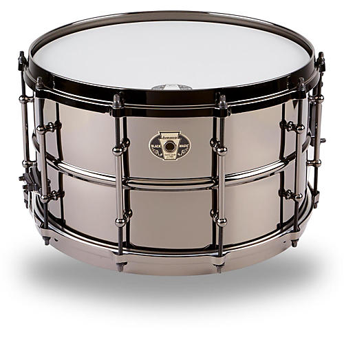 Ludwig Black Magic Snare Drum-thumbnail
