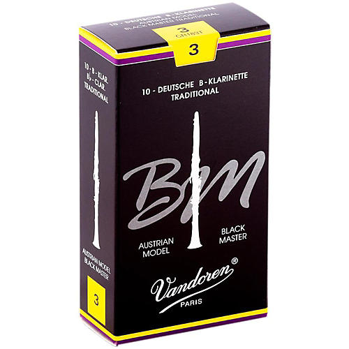 Vandoren Black Master Traditional Bb Clarinet Reeds-thumbnail