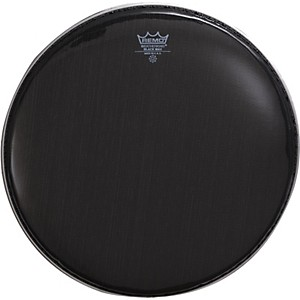 Remo Black Max Crimped Marching Snare Drum Head by Remo