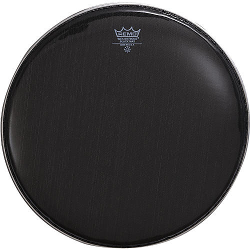 Remo Black Max Crimped Marching Snare Drum Head-thumbnail
