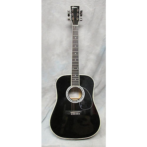 used esteban black mist acoustic electric guitar guitar center. Black Bedroom Furniture Sets. Home Design Ideas